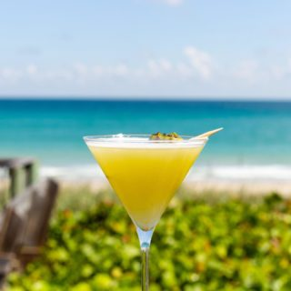When you want to truly taste the experience... you need to get over to Kyle G's Prime Seafood and Steak!  Not only is the food top top notch but they serve up Rude Bwoy Cocktails with this view!!! Are you kidding me?  Paradise is real at Kyle G's on Hutchinson Island, Florida!! @islandinabottle #coconutrum #paradise #topfood #bestofthebest #hutchinsonisland #toprestaurants